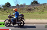 (VIDEO): Miracle motorbike that goes 500km on a liter of water