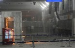 (VIDEO) CCTV - Moment Attaturk Airport bomber explodes himself after being shot