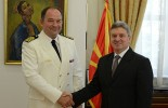 Ivanov meets new chief of NATO Liaison office in Skopje