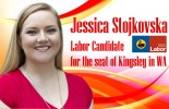 Jessica Stojkovska, Labor Candidate for the seat of Kingsley in WA