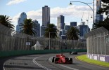 Sebastian Vettel wins in Melbourne ahead of Lewis Hamilton