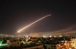 (VIDEO) US, British and French forces launch air strikes in Syria in response to chemical weapons attack