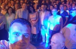 Zaev took a selfie during the celebrations in Bitola