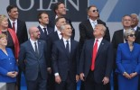 What were the key contention point from the NATO summit in Brussels