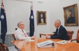 New Prime Minister Scott Morrison has begun his first day in office