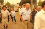 Prime Minister Scott Morrison confronted by angry locals in Cobargo as bushfires continue